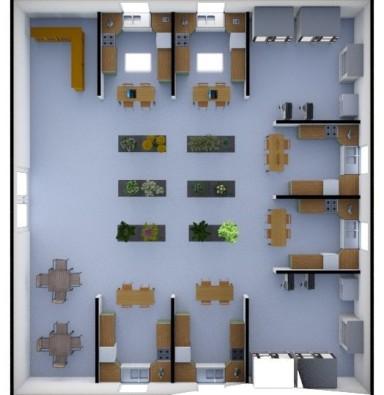 Dream Classroom 3D view